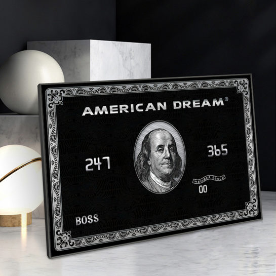 american dream wallart