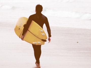 California surf image