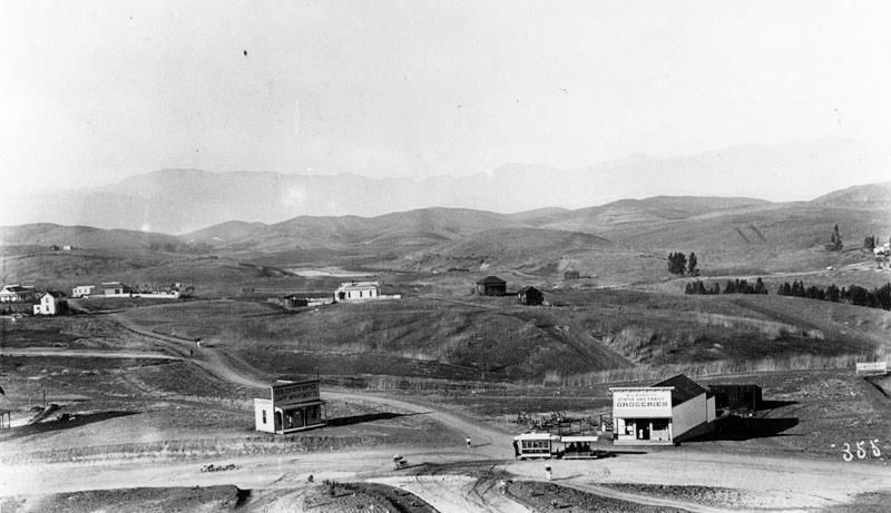 Los Angeles in 1901